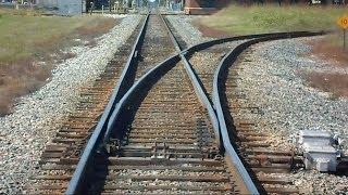 Download Amtrak Train Passes Track Switches CSX Train Passes Video