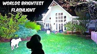 Download Worlds Brightest Flashlight 32000 Lumens Video