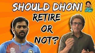 Download Should DHONI Retire? | Ramiz Speaks Video