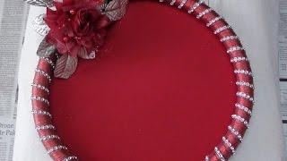 Diy decorative wedding trayplate diwalilaxmi poojaaarati download how to make decorative round tray video junglespirit Choice Image