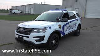 Download 2018 Ford Utility | Goshen Police Dept. with SoundOff mPower Light Bar! Video