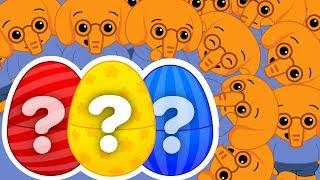 Download Huevos Sorpresa de Colores de Elefantes # 1   A Jugar Video
