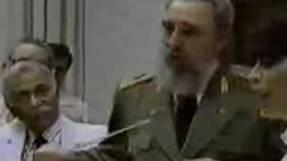 Download Fidel Castro speaks to Malcolm X delegates Video