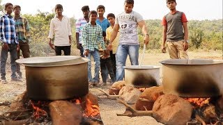 Download 20 POUND CHICKEN CURRY AND BIRYANI RICE FOR VILLAGE KIDS 😍😍 Video
