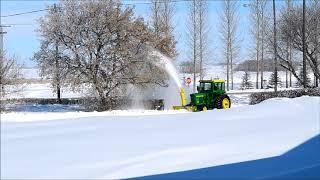 Download Solution for Saskatchewan spring snow storm Video