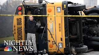 Download Tennessee School Bus Crash: 5 Children Killed, Driver Arrested | NBC Nightly News Video