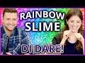 Download DIY NEON RAINBOW SLIME?! Di Dare w/ Justin Timberlake and Anna Kendrick Video