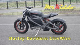 Download Test Riding the Harley Davidson LiveWire - Electric motorcycle prototype Video