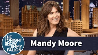 Download Mandy Moore Owes Her Singing Career to Cookies, the National Anthem and FedEx Video
