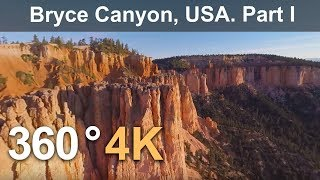 Download 360°, Bryce Canyon, USA. Part I. 4К aerial video Video