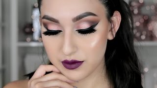 Download NAKED ULTIMATE BASICS & 3 PALETTE: FALL VAMPY MAKEUP TUTORIAL | BEAUTYYBIRD Video