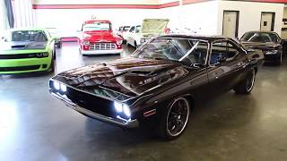 Download 1971 Dodge Challenger Resto Mod For Sale at GT Auto Lounge. Video