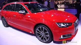 Download 2017 Audi S4 Avant - Exterior and Interior Walkaround - 2016 Paris Motor Show Video