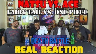 Download Natsu vs. Ace (Fairy Tail VS One Piece) DEATH BATTLE....Real Reaction Video