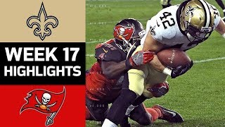 Download Saints vs. Buccaneers | NFL Week 17 Game Highlights Video