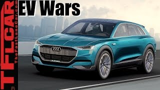 Download 2018 Jaguar I-Pace vs Audi e-tron vs Mercedes-Benz EQ: Upcoming EV Wars Explained Video