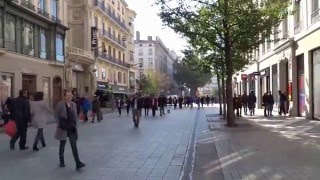 Download Trip to LYON, One Day Tour Through The Streets of Lyon, France Video