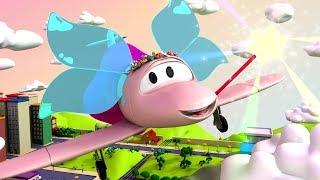 Download Tom The Tow Truck's Paint Shop: Penny is a LOVELY FAIRY 🌈 | Truck cartoons for kids Video