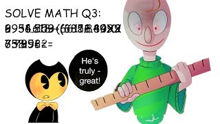 Download Bendy needs to learn math - WITH BALDI? Video