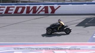 Download Can-Am Spyder F3 Auto Club Speedway Record Video