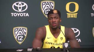 Download Oregon guard Dylan Ennis calls Portland's Damian Lillard ″one of his favorite players″ Video