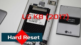 How to Easily RESET LG K7 K8 K10 to Factory Settings t