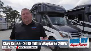 Download 2018 Tiffin Wayfarer 24BW Walkthrough with Clay Kruse near New Orleans and Baton Rouge, Louisiana Video
