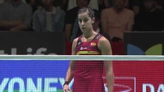 Download Daihatsu Yonex Japan Open 2017 | Badminton F M4-WS | He Bingjiao vs Carolina Marin Video