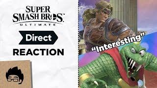 Download Super Smash Bros Ultimate Direct Reaction 8/8/2018 - Artsy Omni Video