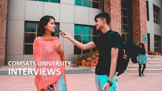 Download ASKING COMSATS ISLAMABAD STUDENTS ABOUT THEIR UNIVERSITY LIFE | Brief Interview - Comsats Islamabad Video