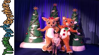 Download Christmas Town 2016 Busch Gardens Tampa with Rudolph Meet and Greet Video