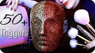 Download ASMR 50+ Triggers over 3 Hours (NO TALKING) Ear Cleaning, Massage, Tapping, Peeling, Umbrella & MORE Video