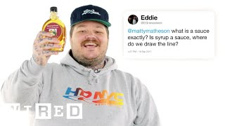 Download Matty Matheson Answers Cooking Questions From Twitter | Tech Support | WIRED Video