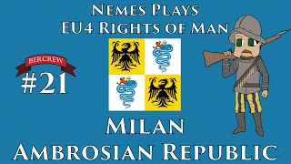 Download Milan Ambrosian Republic - EU4 Rights of Man Episode 21 [Europa Universalis IV] Video