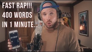 Download FAST RAP - 400 words in 1 minute Video