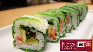 Download Vegan Roll With A Twist - How To Make Sushi Series Video