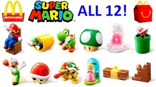 Download ALL 12 WORLD SET 2017 McDONALD'S SUPER MARIO HAPPY MEAL TOYS NINTENDO KIDS COLLECTION UNBOXING UK JP Video