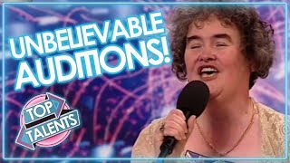 Download UNBELIEVABLE Auditions That SHOCKED & SURPRISED THE WORLD | X FACTOR, GOT TALENT IDOLS Video