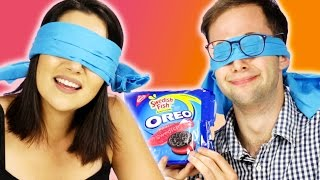 Download Blindfolded People Guess Oreo Flavors Video