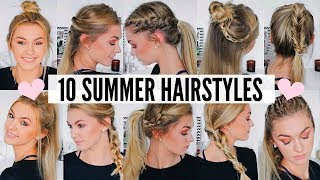 Download 10 CUTE & EASY SUMMER HAIRSTYLES Video