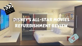 Download Disney's All Star Movies Resort Refurbishment Review Video