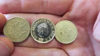 Download New Pound Coin - 12 sided £1 Coin's Design + Dimensions Video