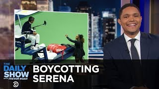 Download Umpires Threaten to Boycott Serena Williams & Tourists Tempt Fate with a Lion   The Daily Show Video
