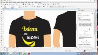 Download 1# Cara Membuat Desain Baju Dengan Corel Draw x7   CorelDRAW Tutorials (Bahasa Indonesia) Video