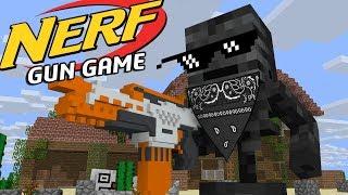 Download Monster school: NERF GUN GAME - Minecraft Animation Video