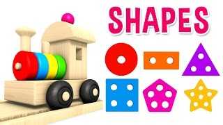 Download Learn Shapes with Preschool Toy Train - Learning Shapes Videos for Kids Video