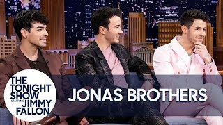 Download Jonas Brothers on Reuniting, Marriages and Drinking as Therapy (Extended Interview) Video