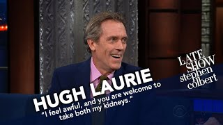 Download Hugh Laurie Finally Says 'Thank You' To Stephen Video