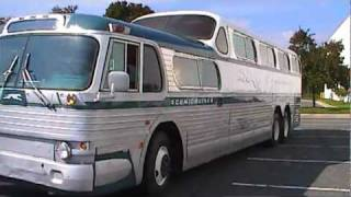 Download Fully restored 1954 Greyhound Scenicruiser Bus PD4501-083 Video