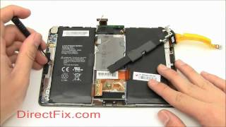 Download BlackBerry PlayBook Teardown & Repair Directions By DirectFix Video